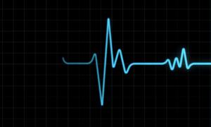 Ten pulsometr posiada własne zasilanie i przykleja się do skóry