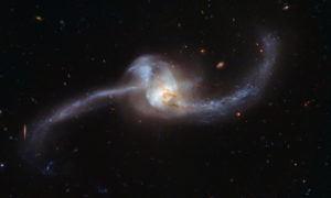 Karzeł sekstantu to najmniejsza kanibalistyczna galaktyka