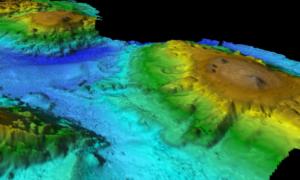 Na wybrzeżu Australii znajdują się pozostałości podwodnych wulkanów
