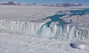 Posłuchajcie efektu, jaki tworzy wiatr na Antarktydzie