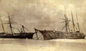 Huragan Michael odsłonił wraki zatopione 119 lat wcześniej przez inny kataklizm