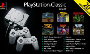 Pełna lista gier PlayStation Classic