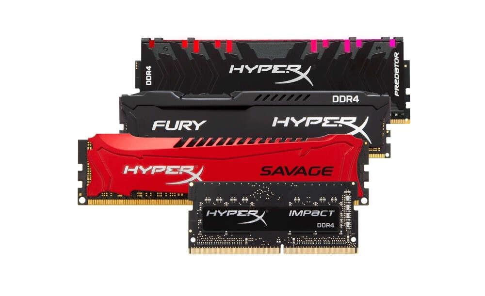 HyperX chwali się sukcesem na rynku pamięci