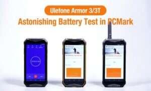 Ulefon Armor 3 w teście baterii