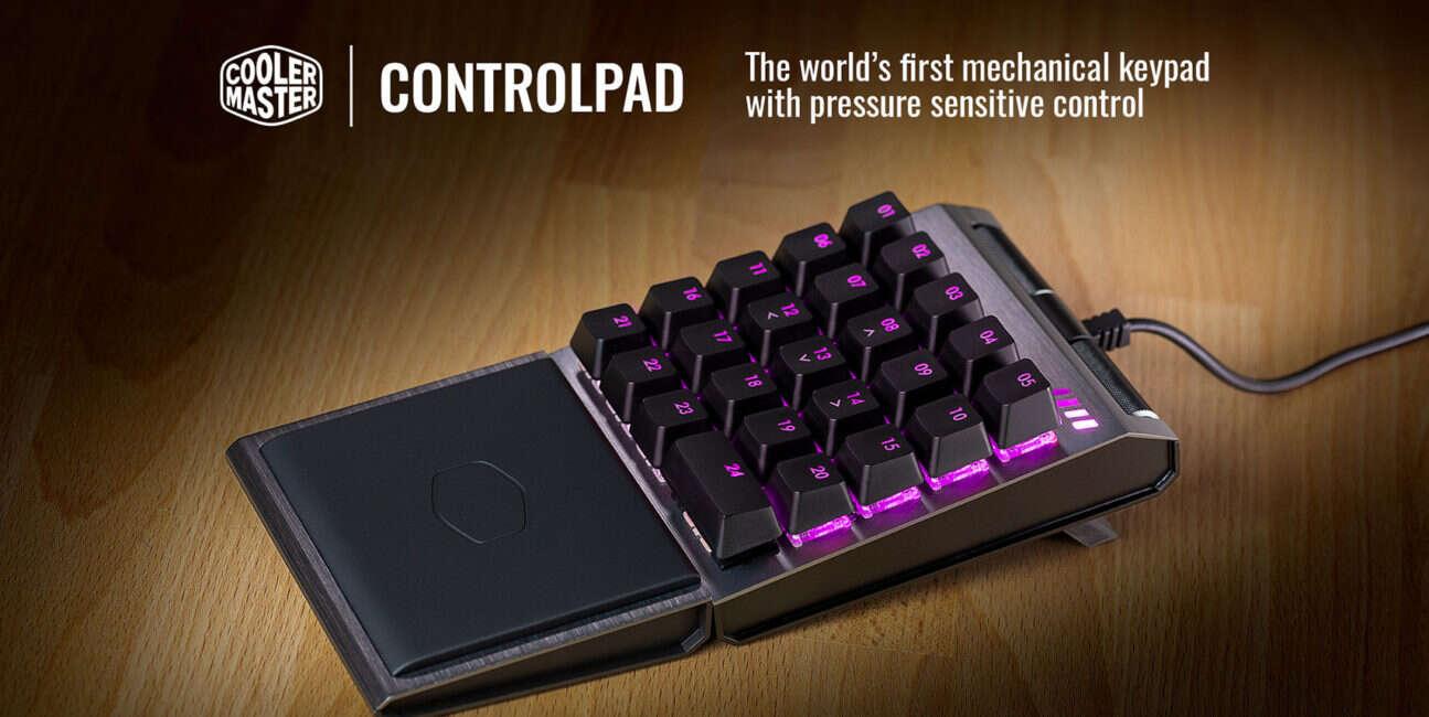 Rewolucyjny Controlpad łączy klawiaturę z padem