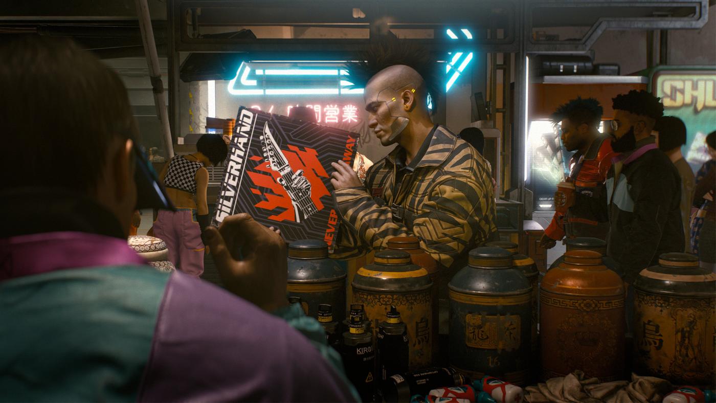 Doskozzza Stachursky'ego w Cyberpunk 2077