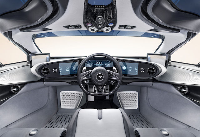 Hybrydowy Speedtail od McLaren zachwyca futuryzmem