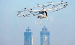 Volocopter przetestuje autonomiczne latające taksówki