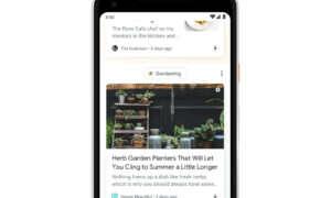 Google wprowadza przerobioną sekcję Discover