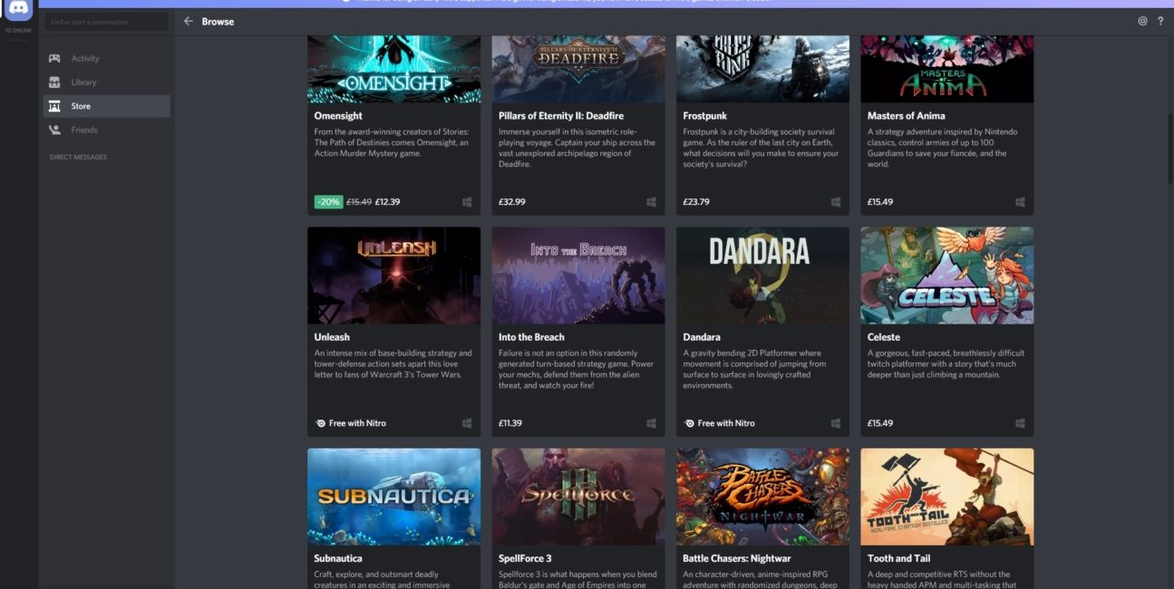 Discord to teraz światowa aplikacja cyfrowej dystrybucji gier