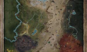 Mapa świata Fallout 76!