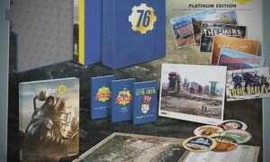 Fallout 76 Platinium Edition nie zawiera samej gry