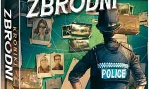 Recenzja gry planszowej Kroniki Zbrodni