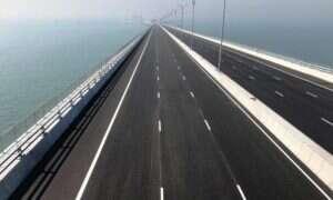 Najdłuższy na świecie most został otwarty w Chinach