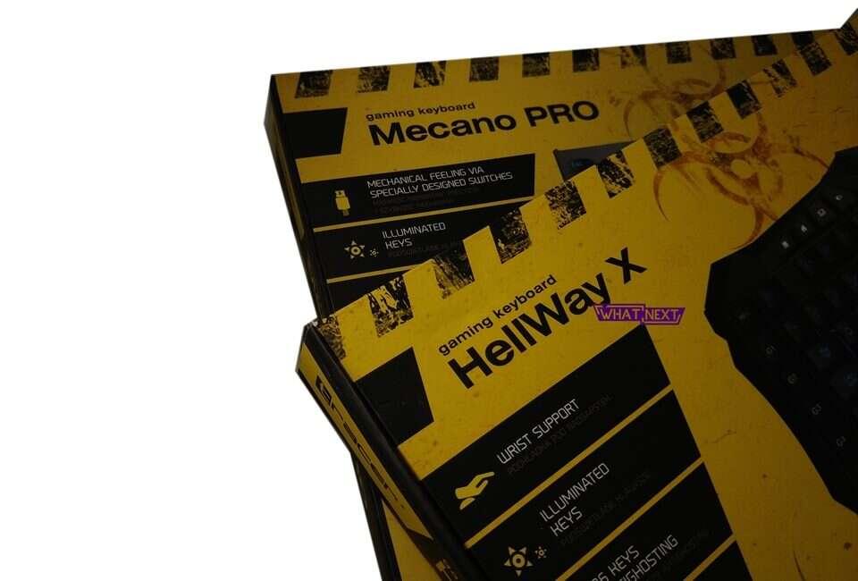 Test klawiatur Tracer Mecano Pro i Hellway X