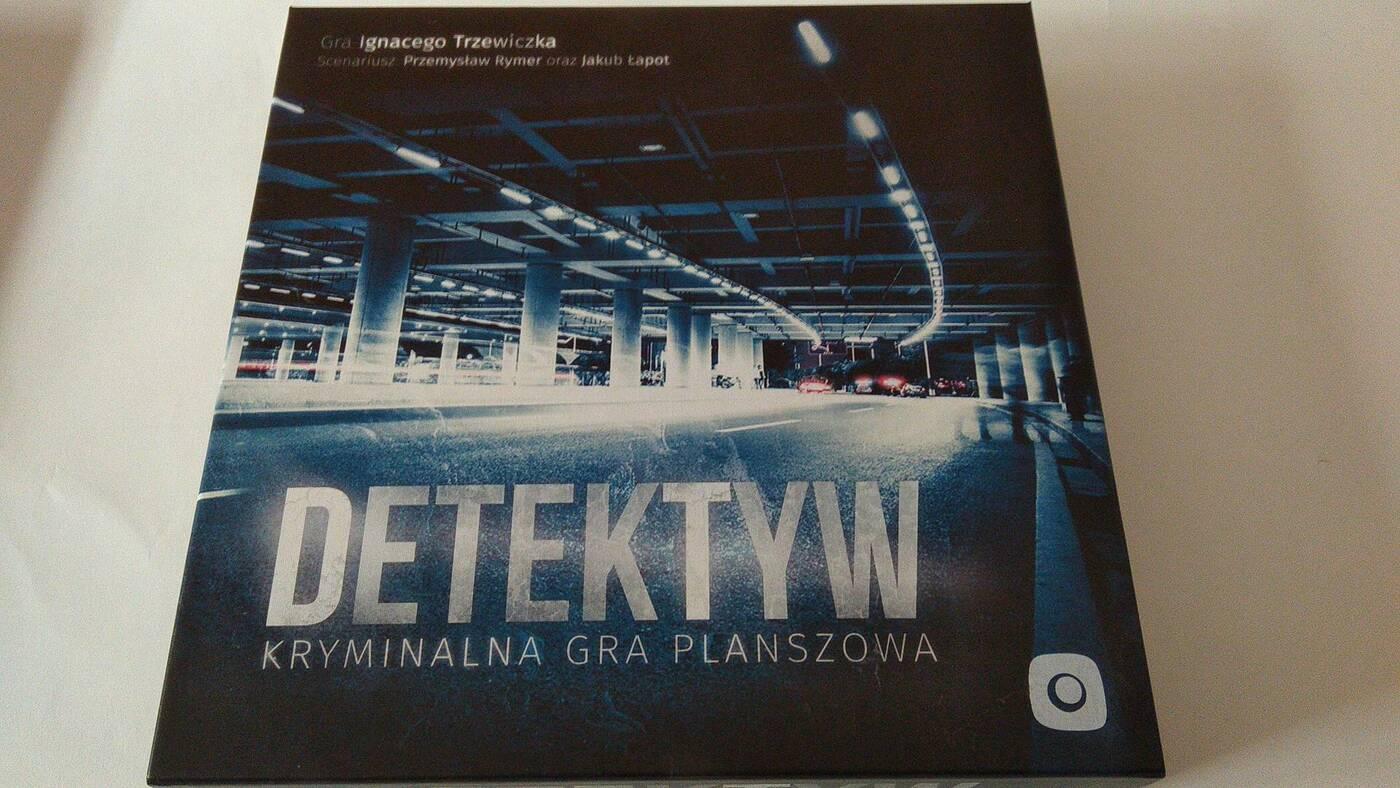 Detektyw: Kryminalna Gra Planszowa pudło