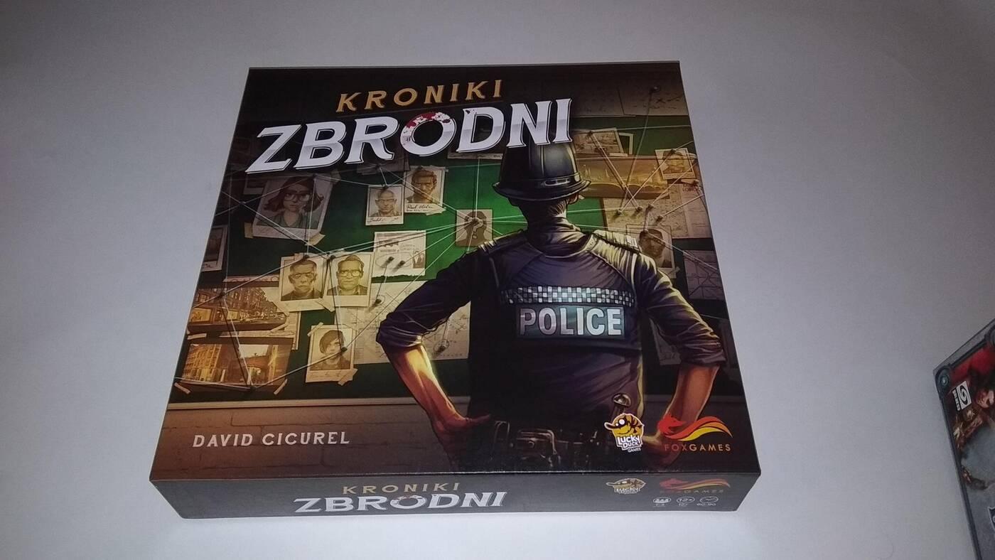 Kroniki Zbrodni pudełko
