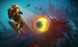 Podwodny zwiastun No Man's Sky The Abyss