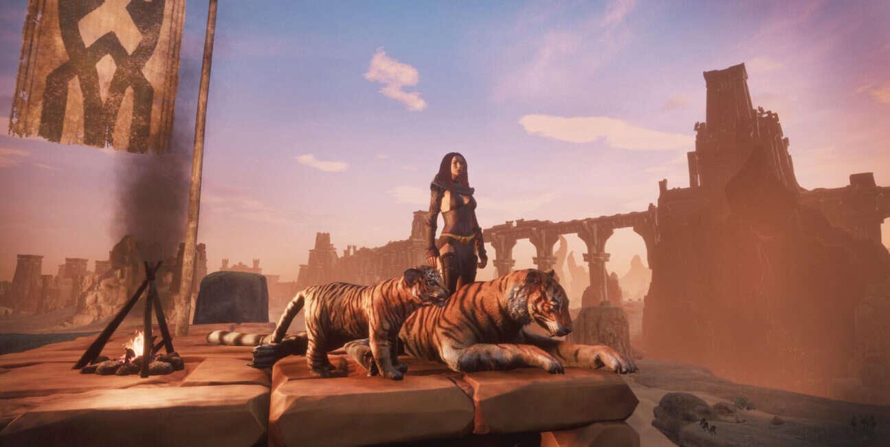 Conan Exiles wzbogaciło się o możliwość oswajania zwierząt