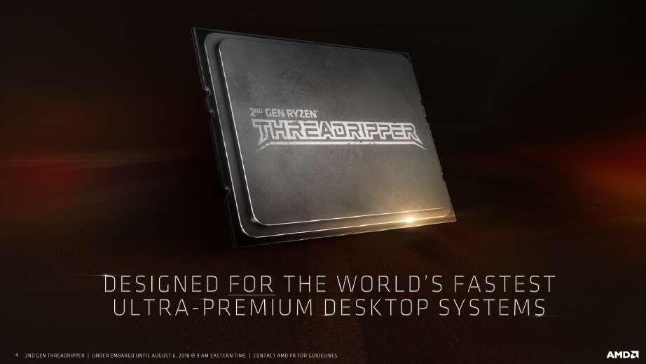 Premiera AMD Ryzen Threadripper 2970WX i 2920X