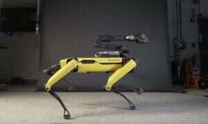 Tańczący robot Spot podbija YouTube swoimi ruchami