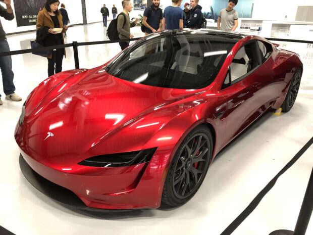 Pierwsze zdjęcia nowej generacji Tesla Roadster