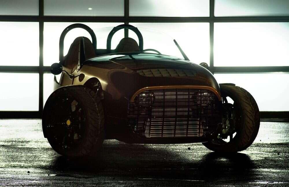 Trójkołowy roadster Carmel od Vanderhall