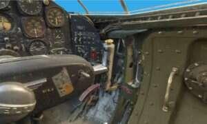 Zobaczcie kokpit naddźwiękowego samolotu Bell X-1