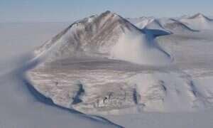 Jeziora, które rzekomo znajdowały się pod lodem Antarktydy, zniknęły
