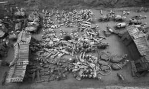 Setki terakotowych figur znaleziono na terenie Chin