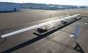 Odyseusz to napędzany energią słoneczną samolot, który może latać miesiącami