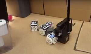 Ten robot zmienia kształt i zachowanie w zależności od wykonywanego zadania