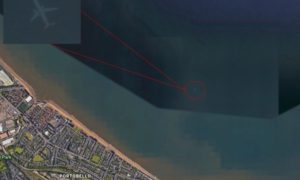 W jaki sposób w mapach Google pojawił się samolot widmo?