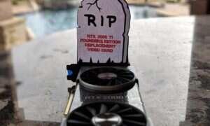 Karta GeForce RTX 2080 Ti FE padła w czasie testów jednego z serwisów