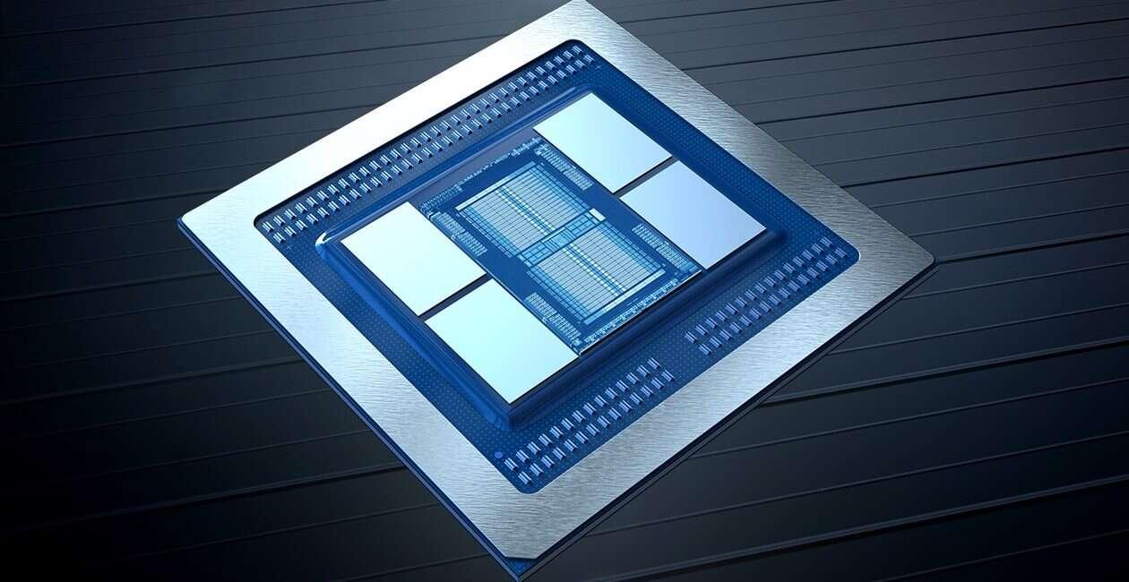 W porównaniu AMD MI60 z Tesla V100 karta Nvidii była ograniczona