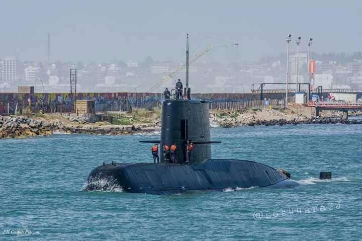 Drony odnalazły zaginiony okręt podwodny ARA San Juan
