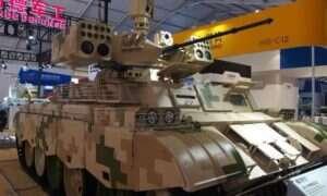Chiny pokazują czołg QN-506