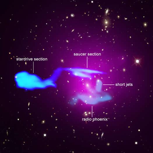 NASA, mgławica NASA, zdjęcie mgławicy, USS Enterprise, zdjęcie USS Enterprise, kosmos USS Enterprise, star trek