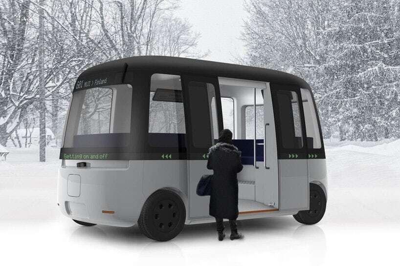 Autonomiczny autobus Gacha wjedzie na drogi Finlandii w 2019 roku