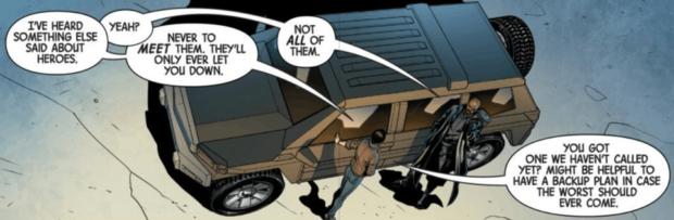 Marvel ujawnia, gdzie był Nick Fury przed Infinity War