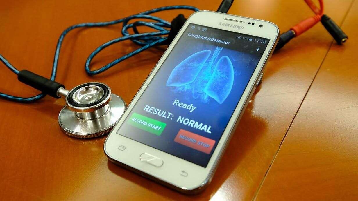 płuca, serce, choroby serca, płuca a serce, zastoinowa niewydolność serca, urządzenie badające serce