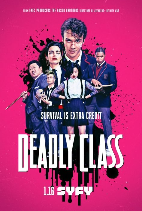 Nowy zwiastun Deadly Class