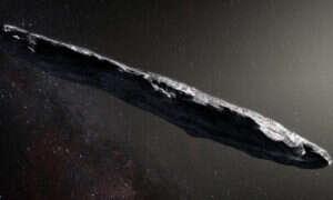 Oumuamua to dosyć mały obiekt