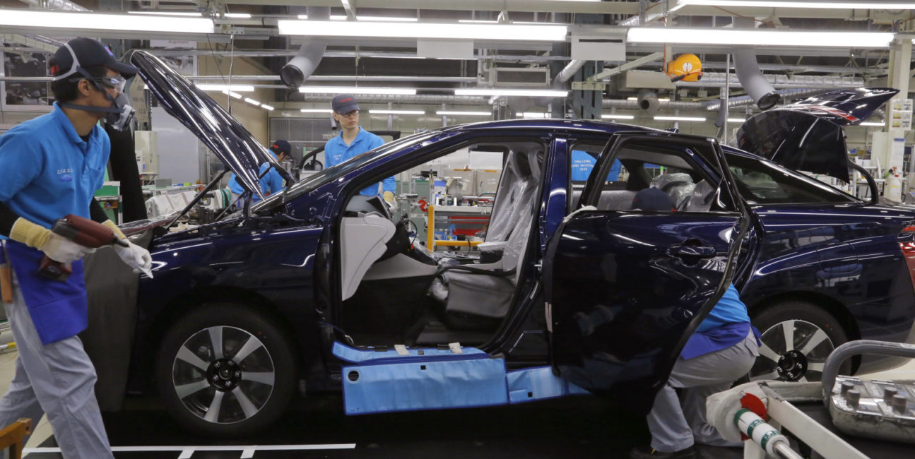Toyota przerzuci się na wodorowe palniki w fabrykach