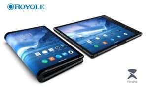 Royole Technology pokazuje pierwszy zginany smartfon