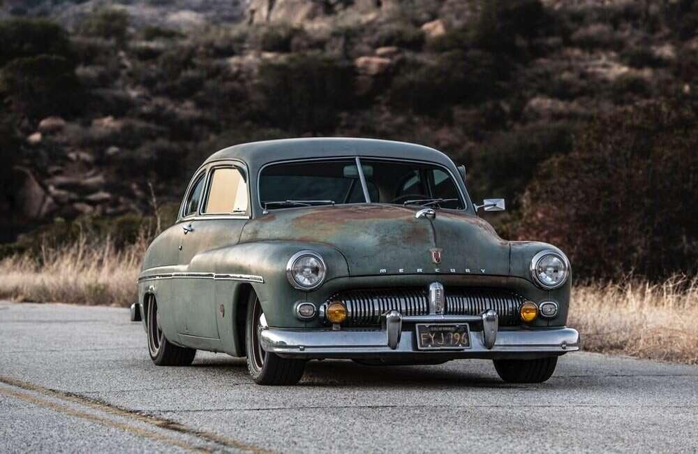 Elektryczny silnik tchnął nowe życie w Mercury z 1949 roku