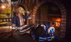 Fantastyczny cosplay z Wiedźmina 3