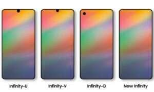 Wyciekły zdjęcia przedniego panelu Samsunga Galaxy A8s