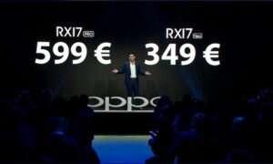 Znamy datę premiery Oppo RX17 Pro i Neo w Europie