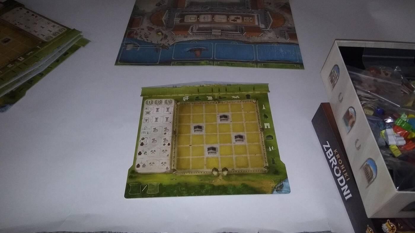 Forum Trajanum planszetka
